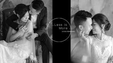 【Less is More|簡單才是恆久】 | Studio Prewedding|影樓婚紗攝影