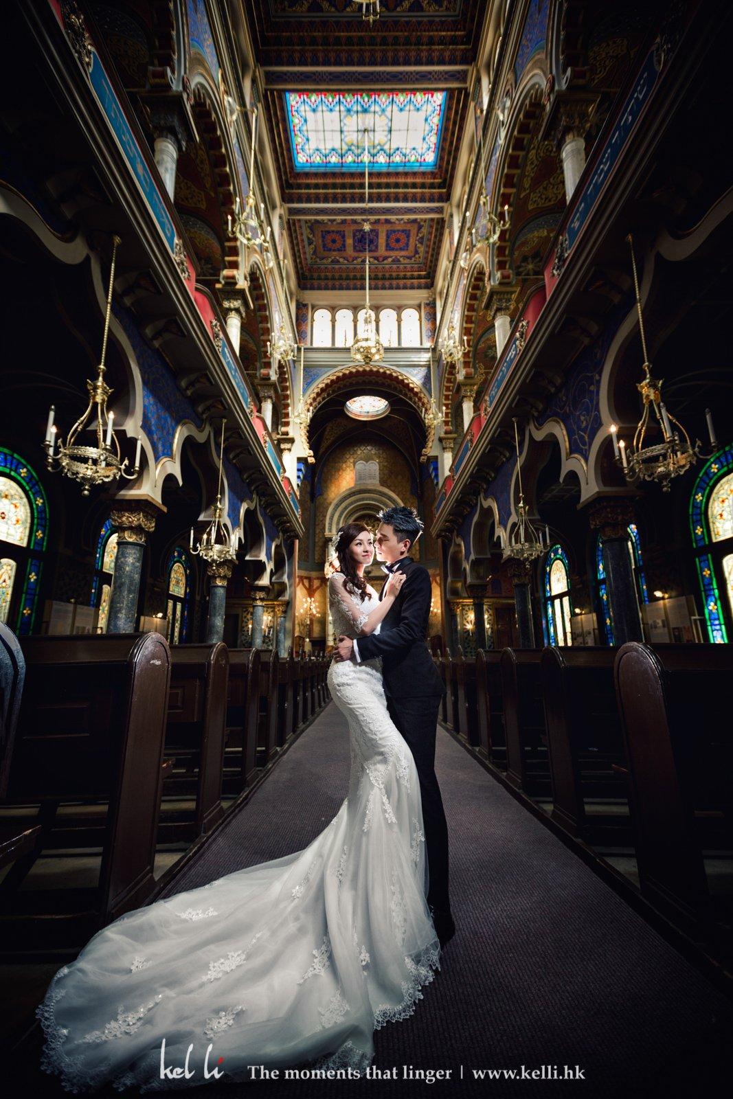 色彩豐富是此教堂的一大特色