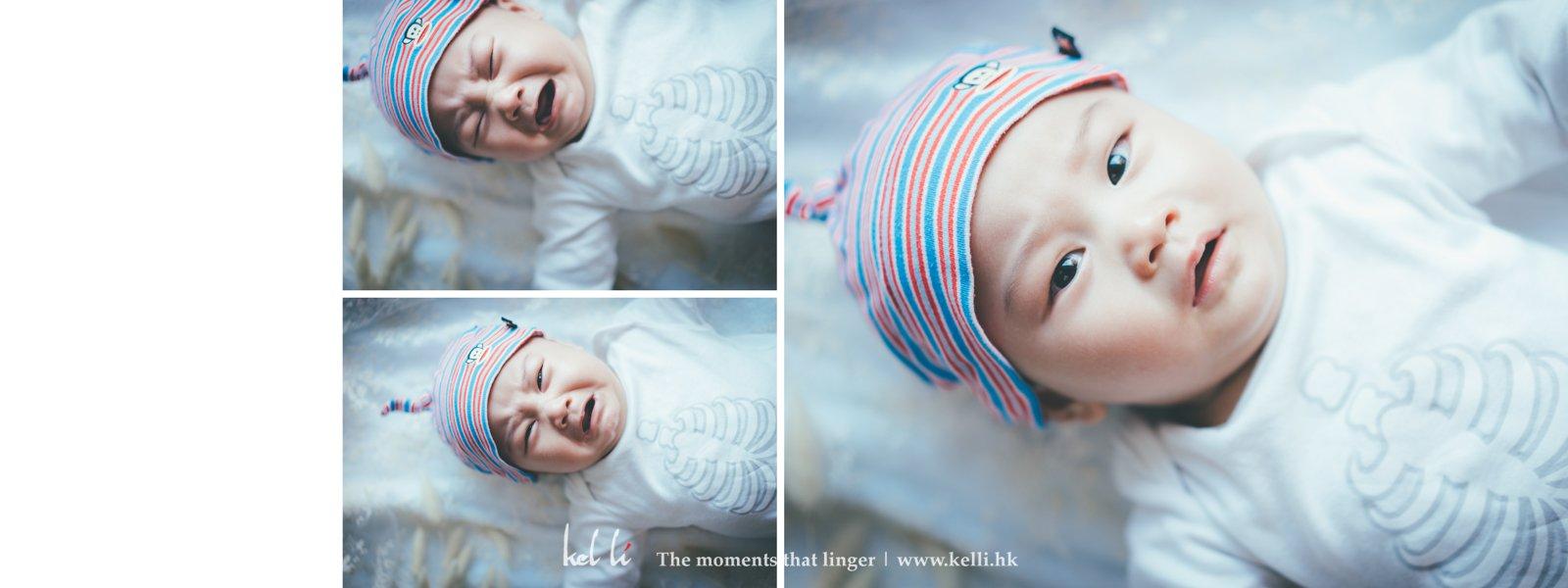 故事性的初生嬰兒拍攝