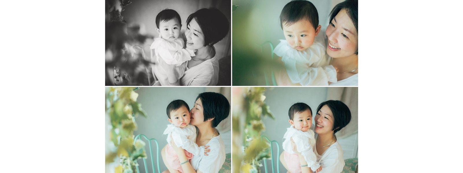 半歲大嬰兒與母親