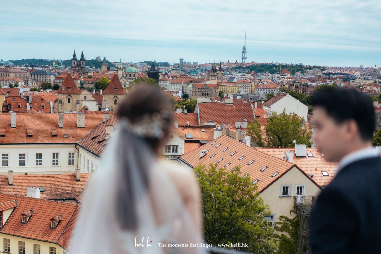 布拉格 Prague的小屋風光令人懷念
