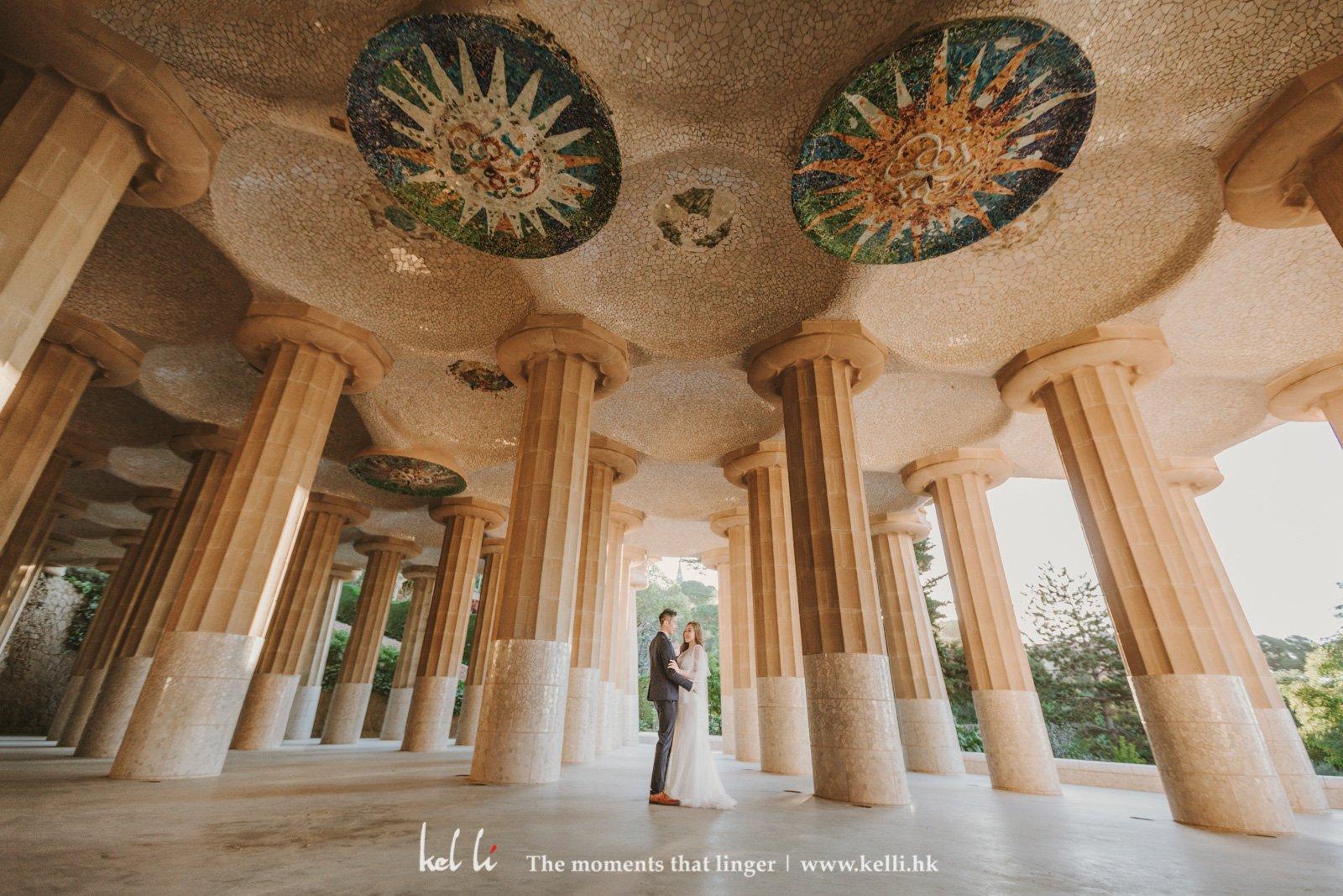 Dancing in the pillar