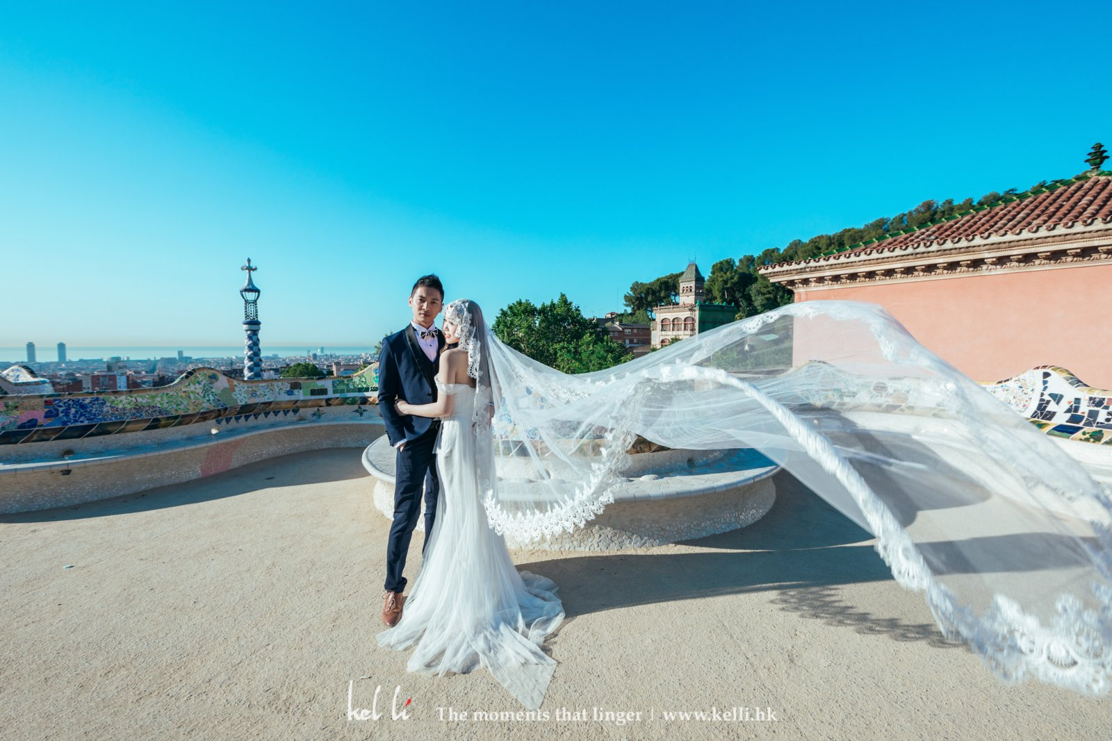 Prewedding in Park Guell