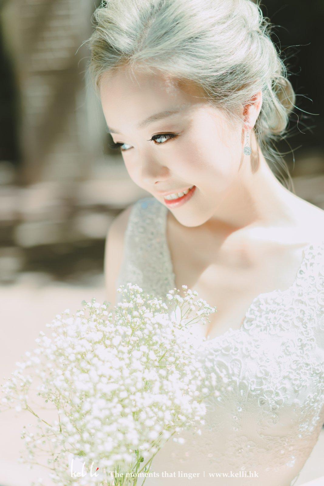不管是海外婚紗照,美美的近照也是不可或缺的