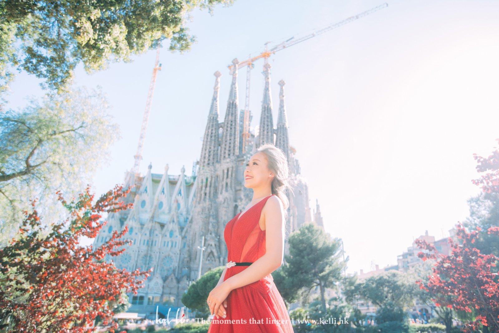 新娘個人相,聖家堂 La Sagrada Familia