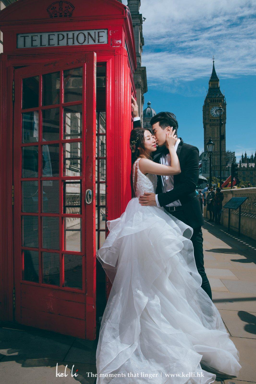 電話亭麻,也是London象徵