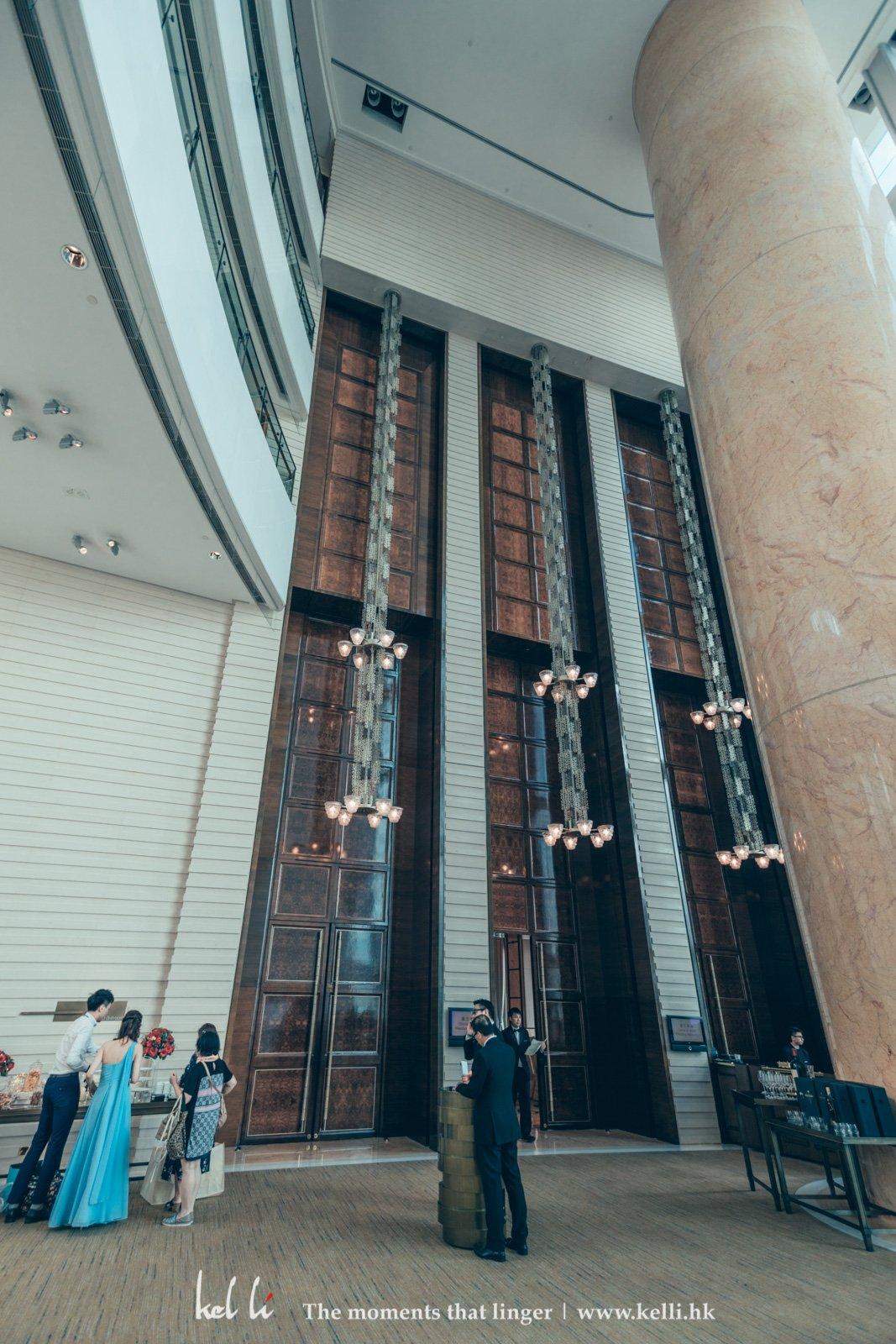 四季酒店晚宴其中最大特色就是超高樓底