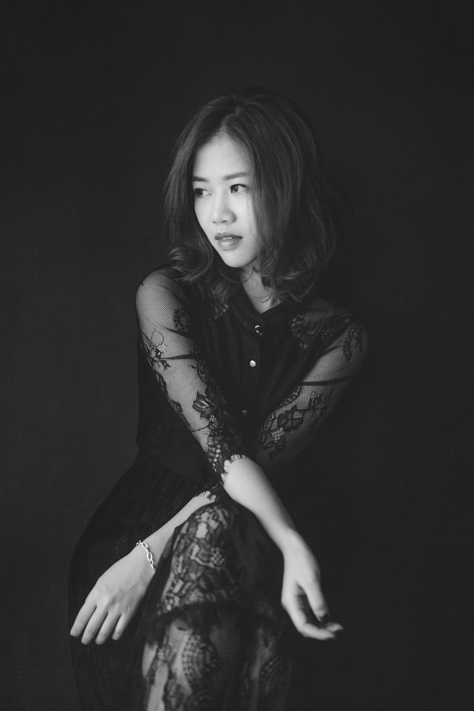 黑白攝影 Black & white portrait