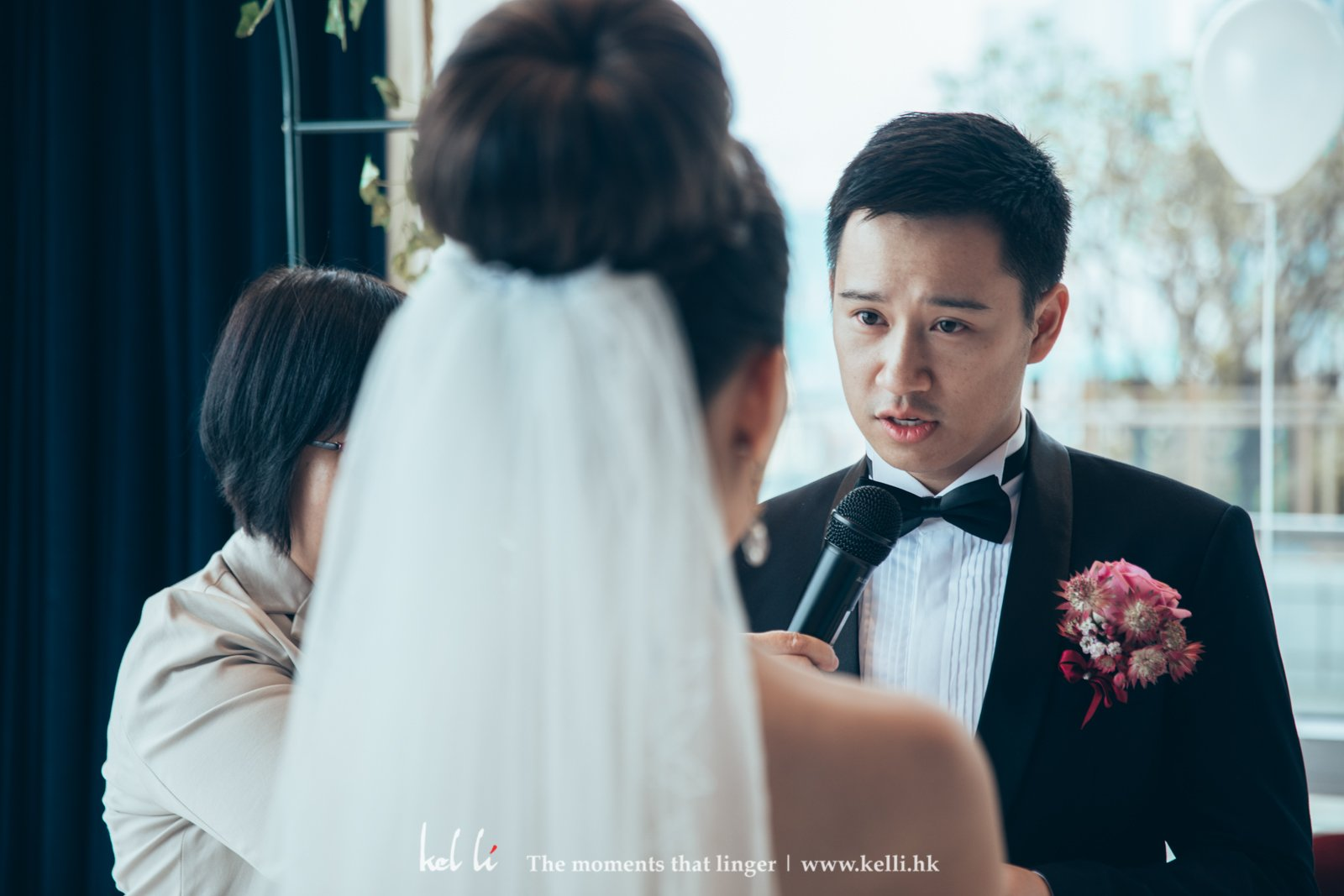 The vow from the groom