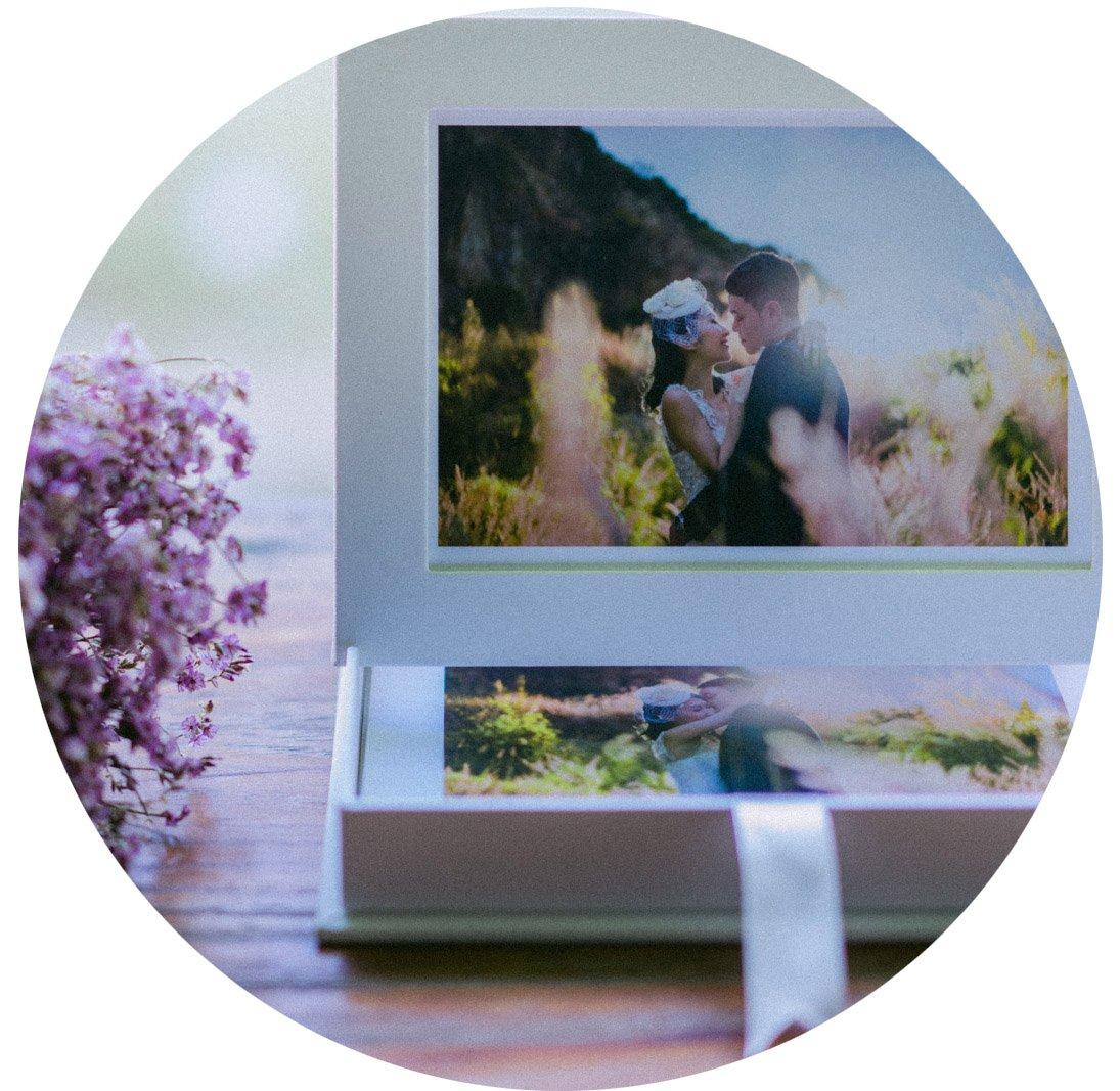 Premium photostand 連同最多30張獨立相片