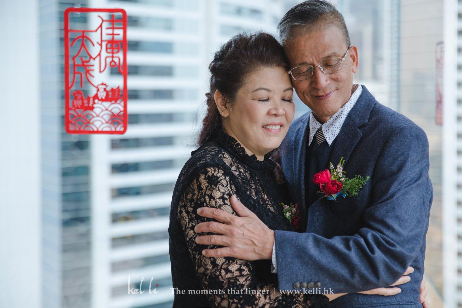 新娘的父母Portrait又怎能缺少