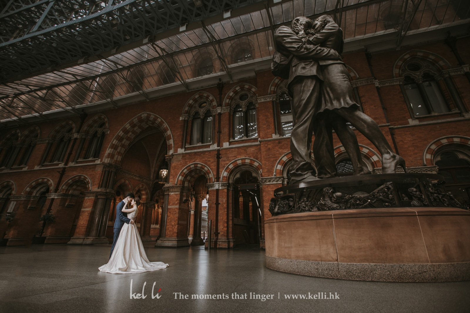 Prewedding in St Pancras
