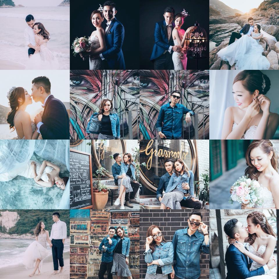 [有片]The Perfect Blend of Elegance, Cheeriness & Style「時尚,唯美,活潑」於一身 | HK Prewedding
