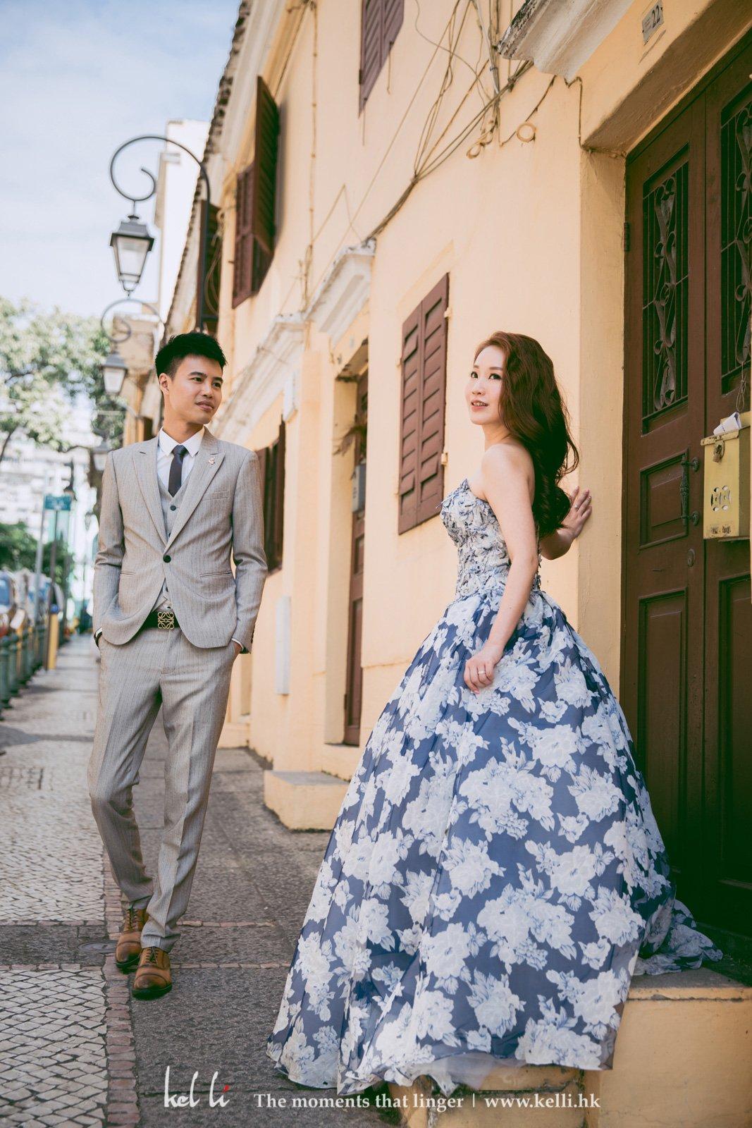 充滿著葡國風情的街道