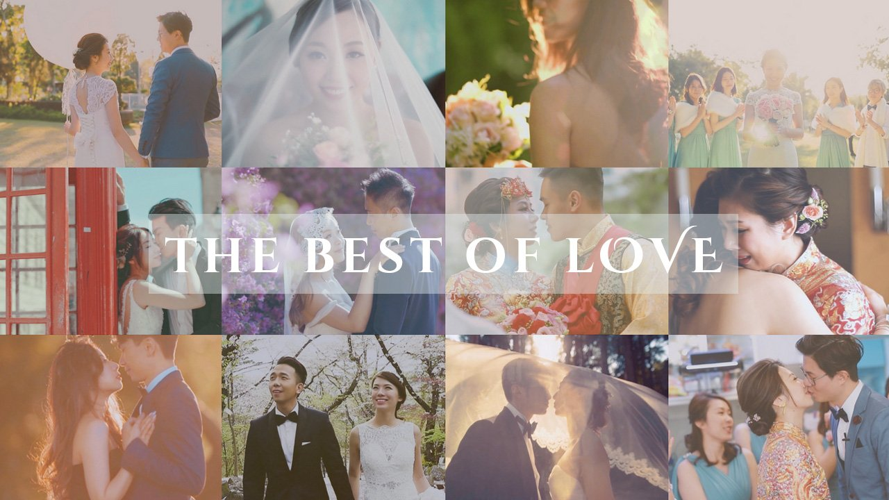 The best collection of prewedding & wedding photo