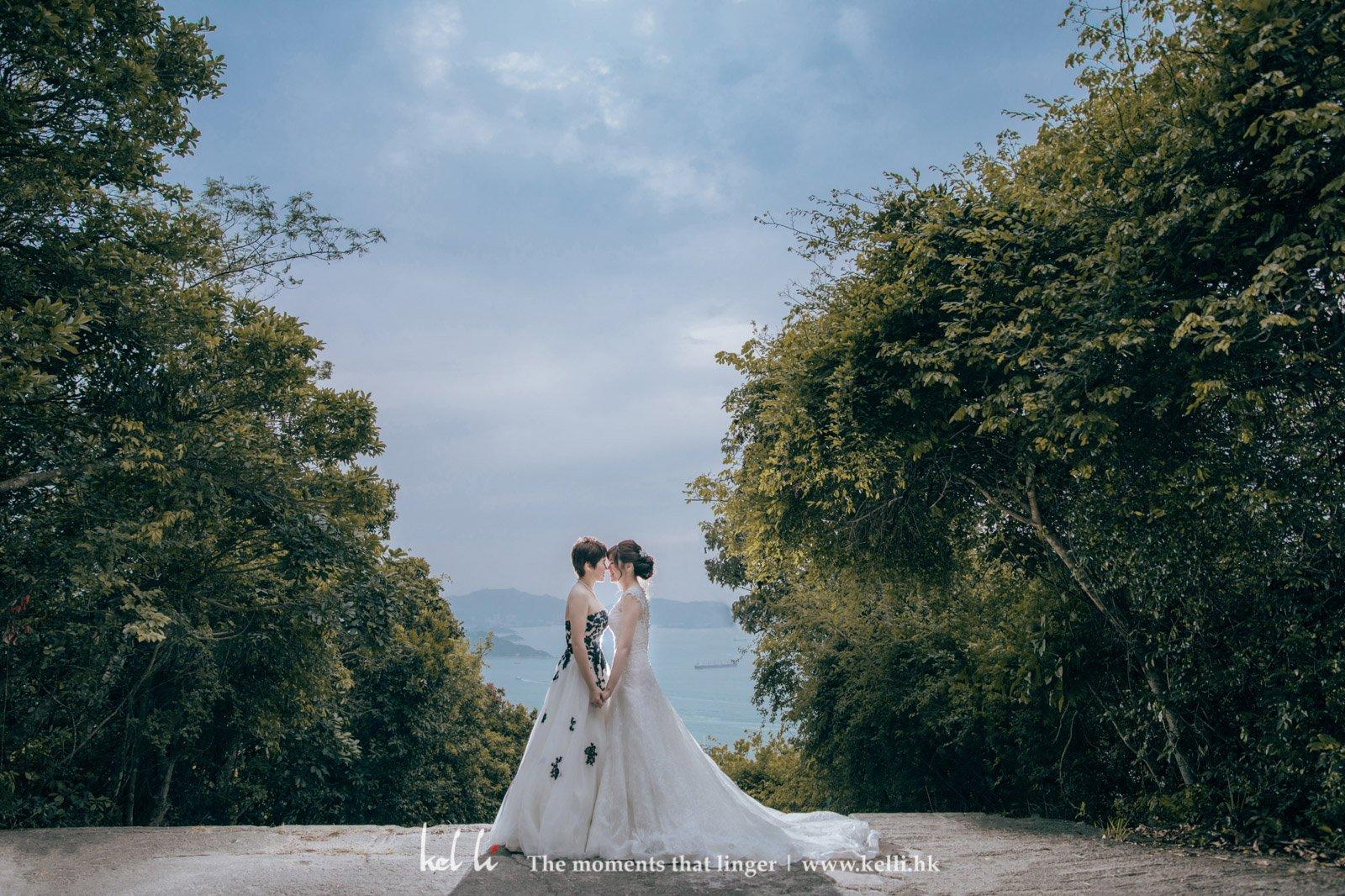 兩位台灣女生的同志婚紗