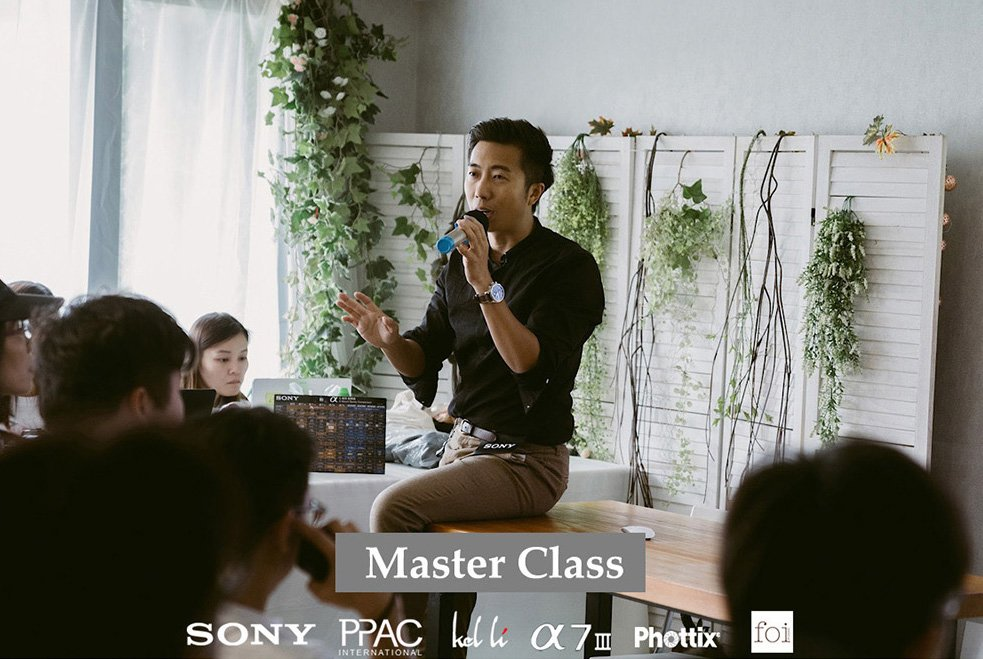 sony & ppac master class / workshop