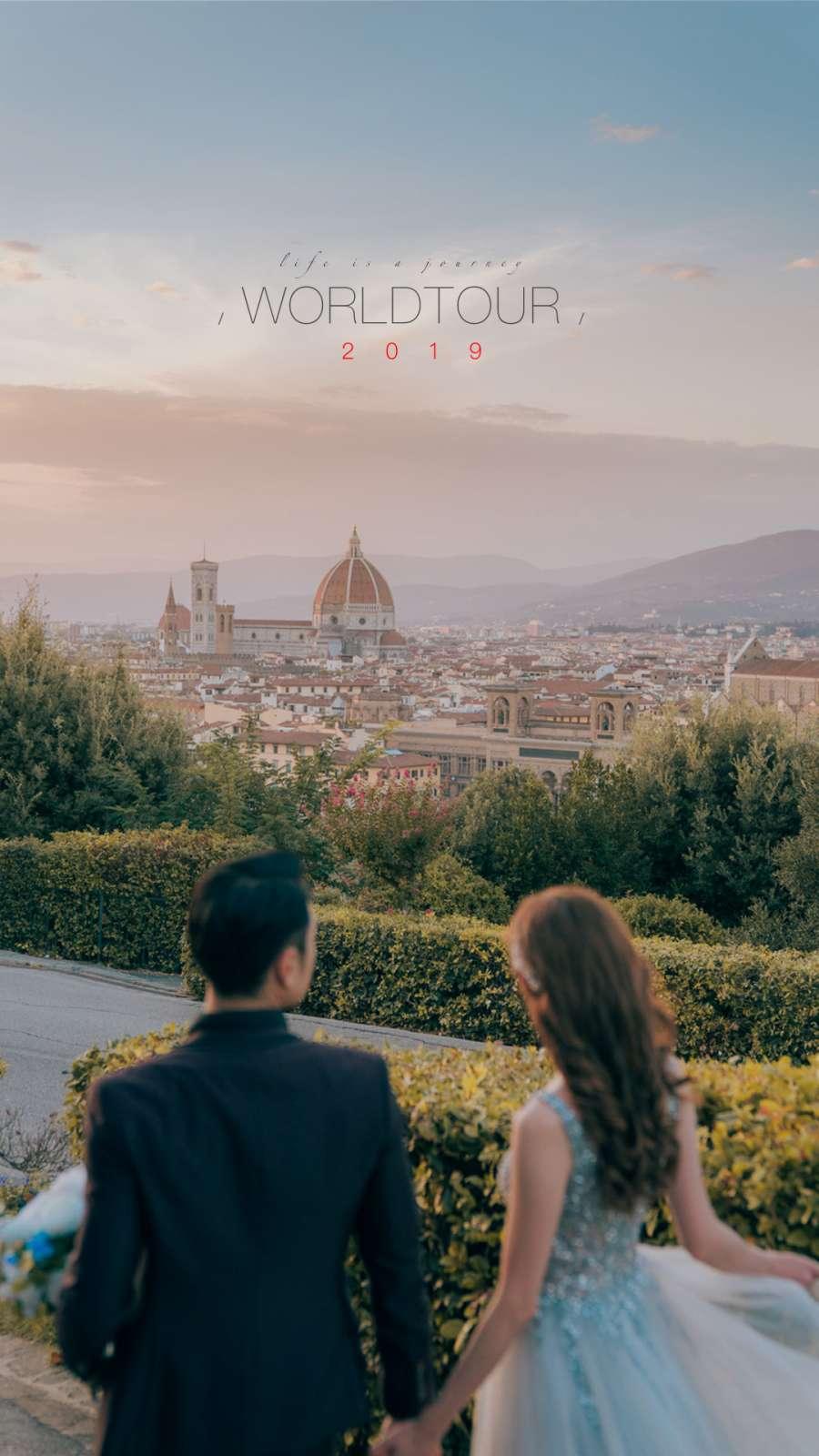 2019 WORLDTOUR PREWEDDING | 海外婚紗攝影