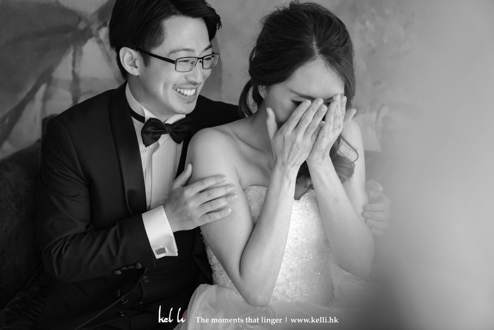 瞬間的情感是我們最愛的婚紗相之一