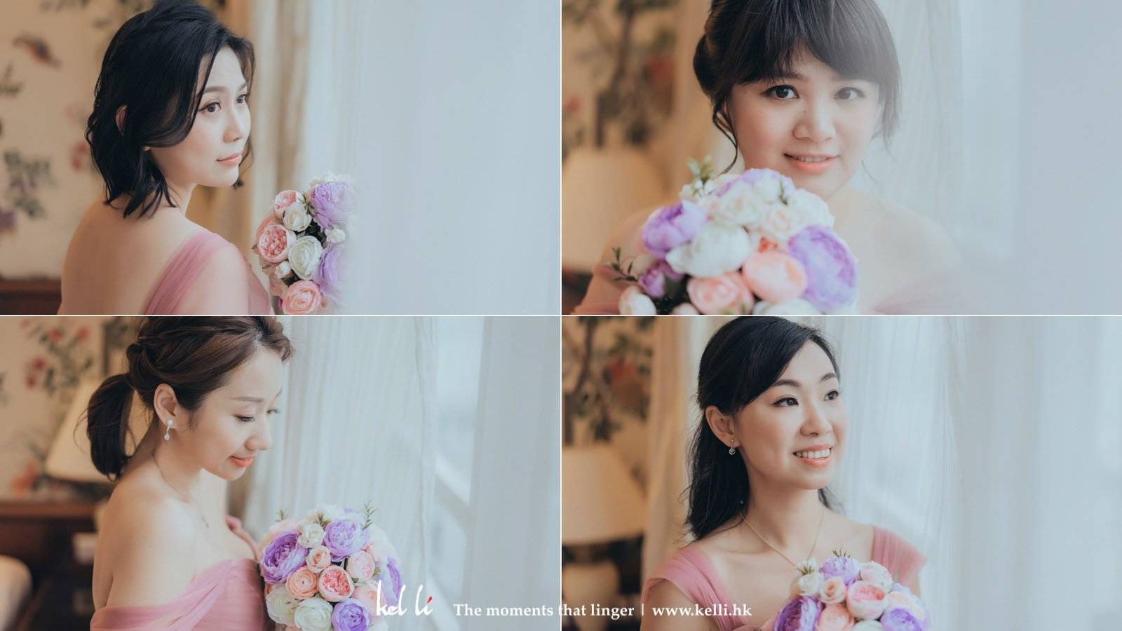 最友好的姊妹 bridesmaid portrait