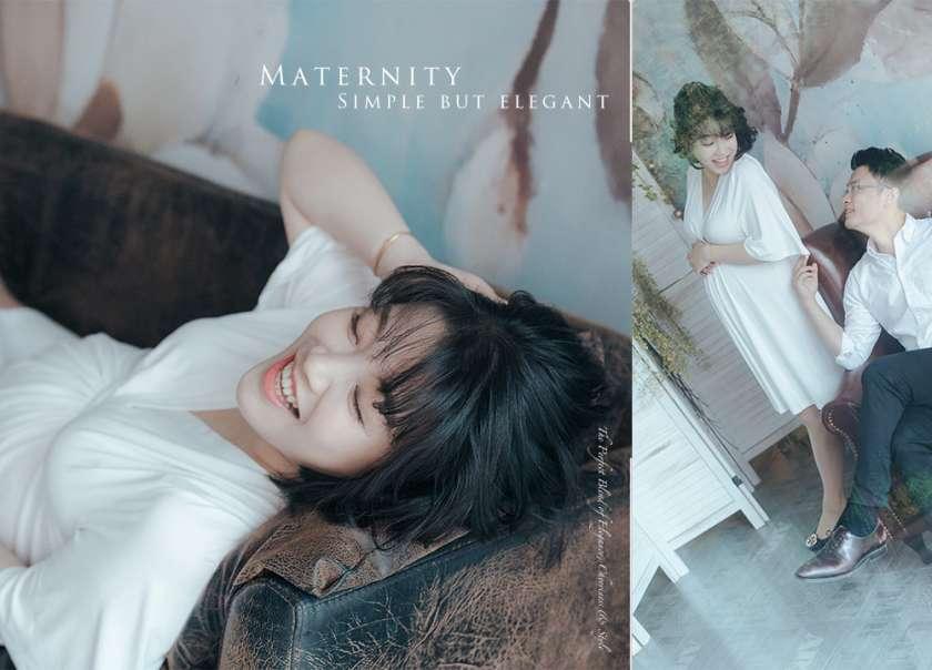 簡約大肚照 | Pregnancy Photography | 孕婦寫真 | Koody Pixel