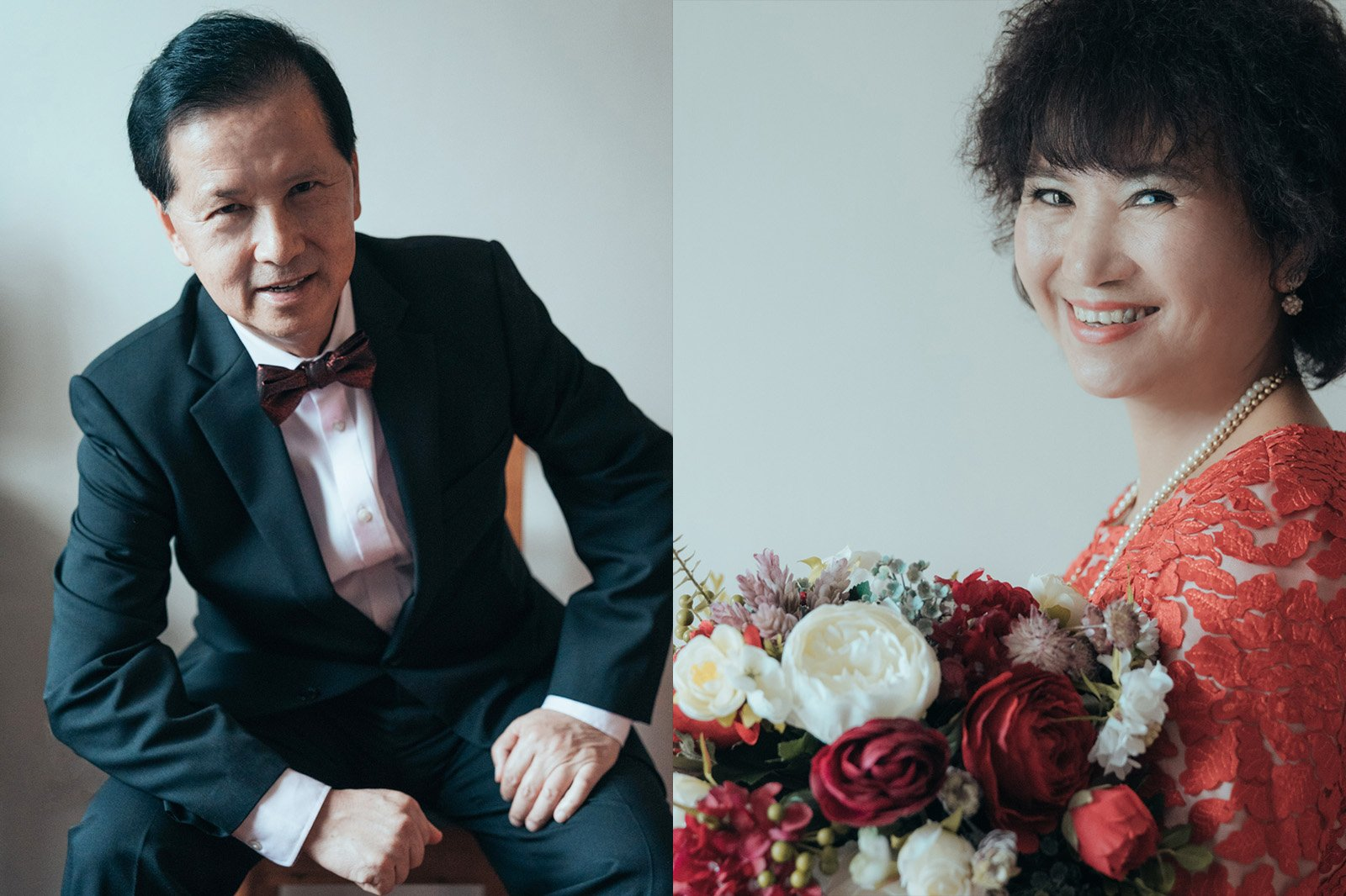 一個婚禮是倆家人,主角何只倆個