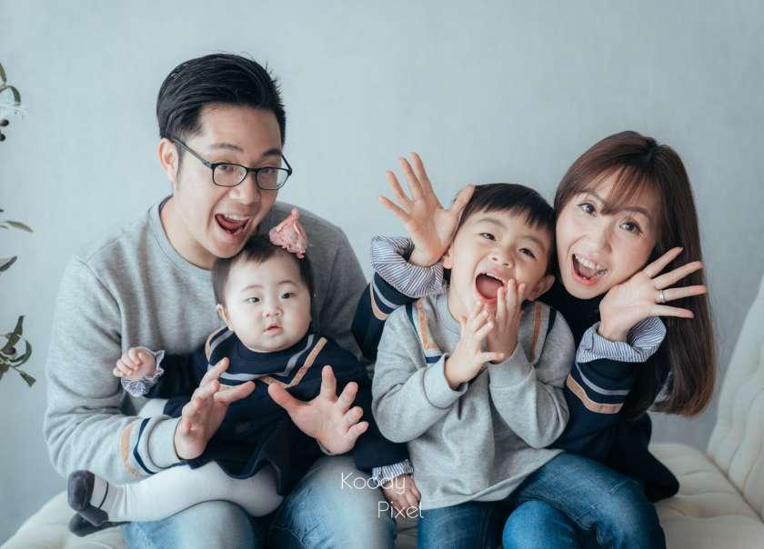 【我們這一家 】| Family Photo | 家庭照 | Koody Pixel