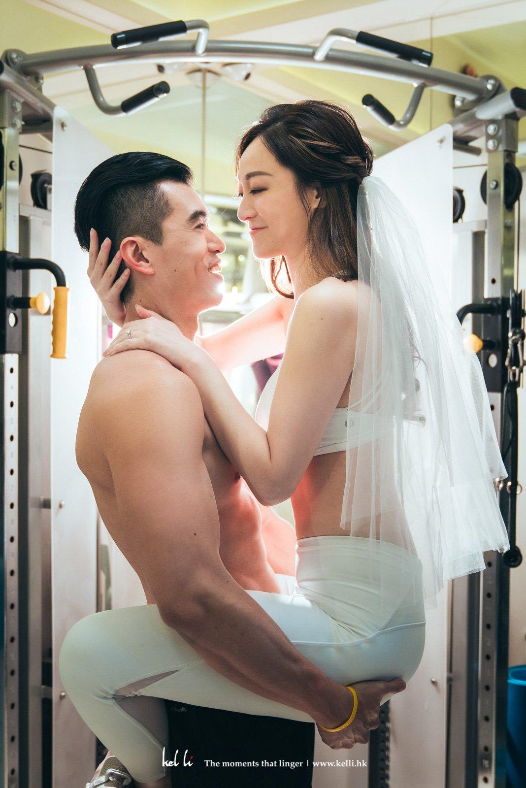 健身房的情侶,健身房的Pre Wedding