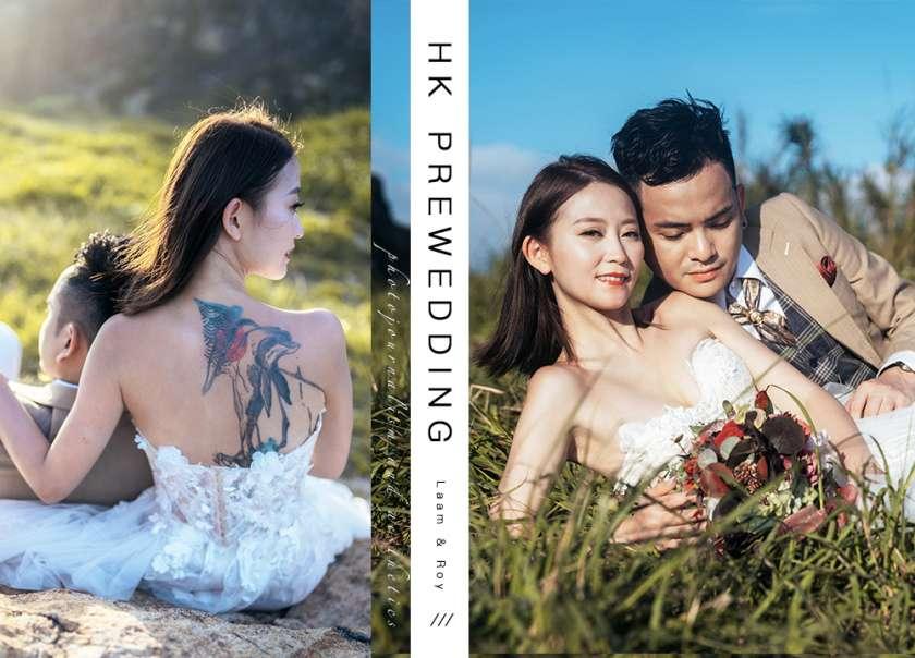 【陽光灑落在31℃的愛】| HK Pre-wedding |香港婚紗攝影