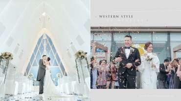 【我們在藍天遇上, 在雲層愛上】| White Chapel Wedding Photography | 海濱白教堂婚禮攝影