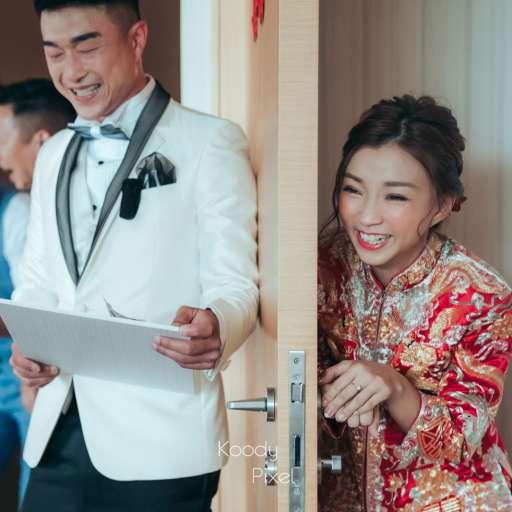 【排球賽裡定情】| HK Wedding photography | 婚禮攝影| Koody Pixel