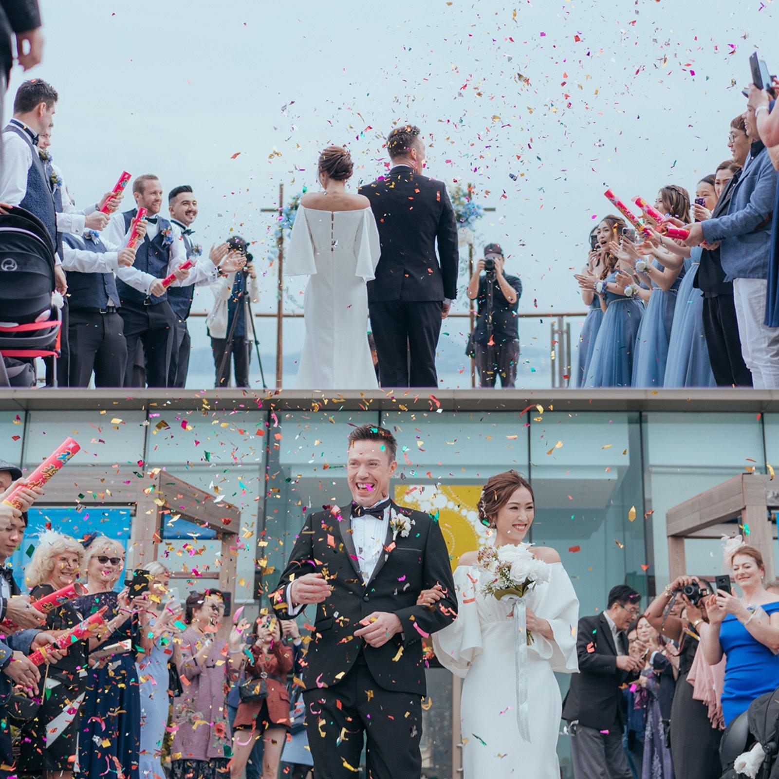 婚禮的瞬間,變得精彩豐富