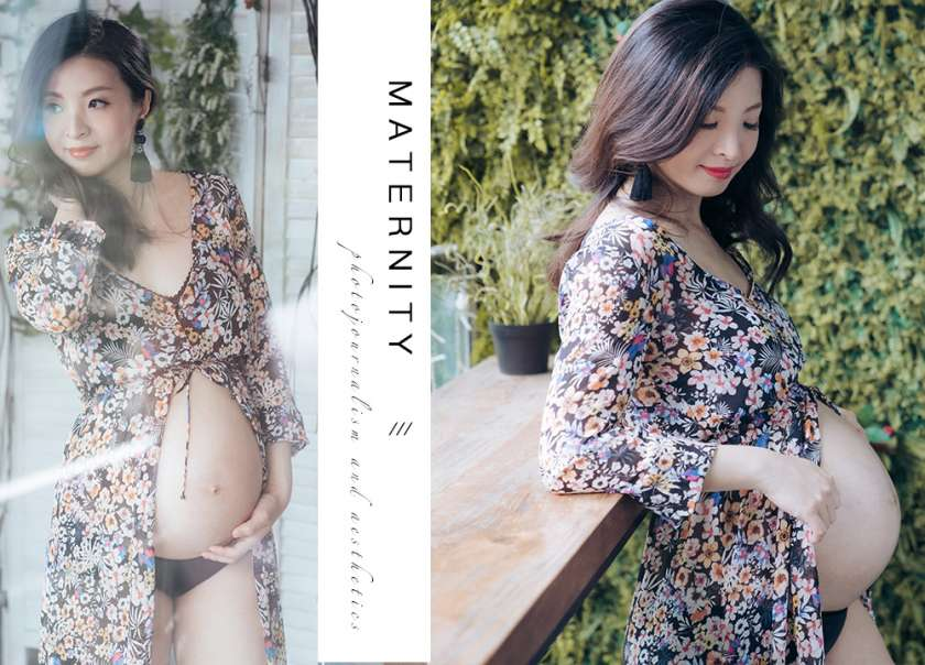 【Floral Maternity】 | 孕婦相 | Pregnancy Photo | Koody Pixel