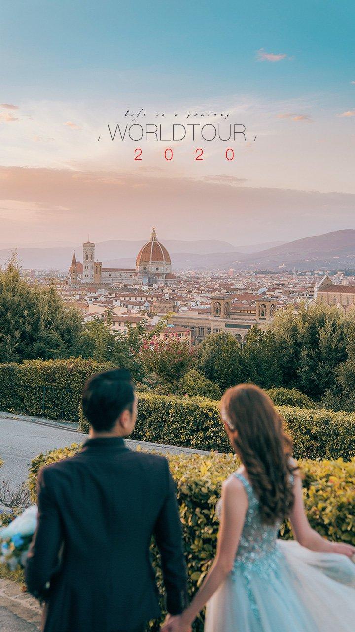 2020 PREWEDDING WORLDTOUR   海外婚紗攝影檔期