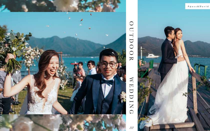 【拾捌.零肆】| 意大利田園風的戶外婚禮 | Outdoor Wedding Ceremony