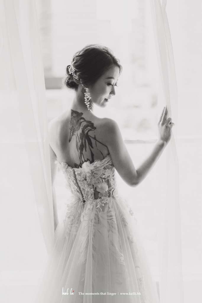 黑白婚紗相 | Black & White Prewedding